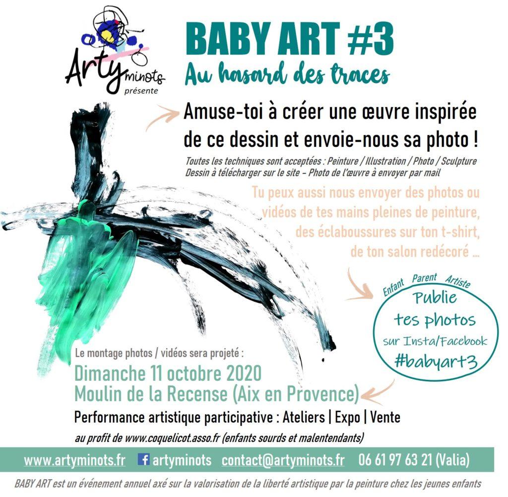 Baby Art 2020 : Ateliers, Exposition, Conférence, Vente aux enchères