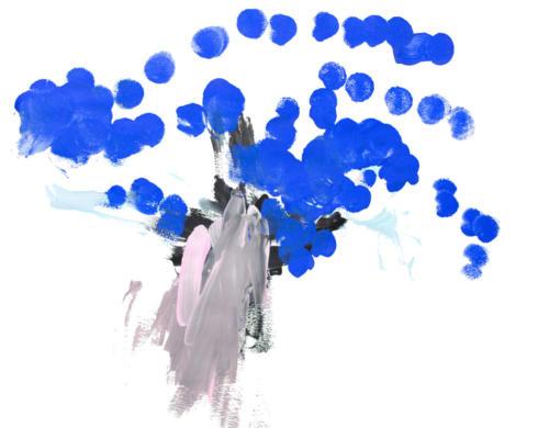 Eclats de bleu